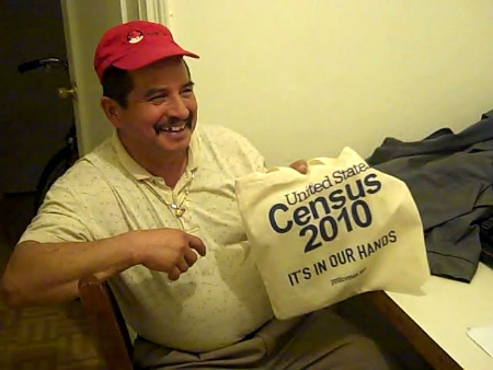 Francisco Avila, an immigrant from Ecuador, says he'll participate in the 2010 Census - Photo: Annie Correal.