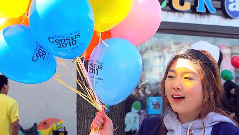 Korean American Census Rally in Queens, NY - Photo: Sooyeon Kim.