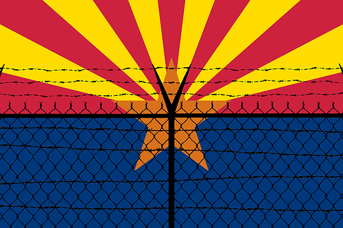 Redesign of Arizona Flag by Andrew Huff/Flickr