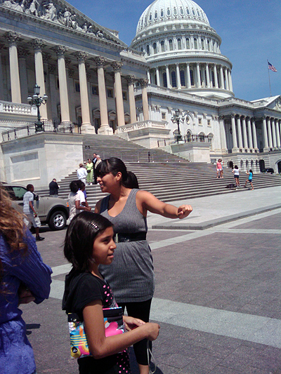 Katherine Figuera in Washington, DC - Photo: Valeria Fernandez