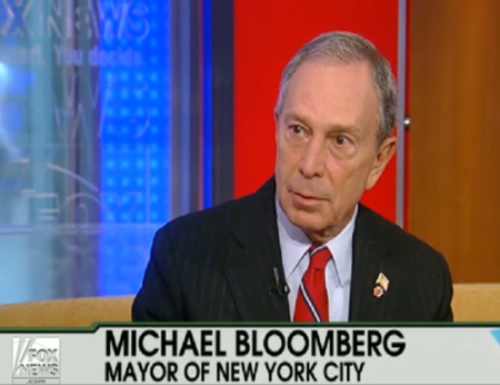 NYC Mayor Bloomberg spoke on Fox News in favor of national immigration reform
