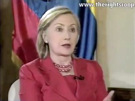 Sec. of State Hillary Clinton on Ecuadorian TV