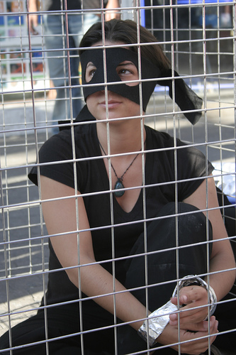 A Protest Against Sex Trafficking - Photo: Ari Bronstein