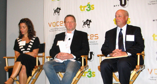 The New York Times' Fernanda Santos, Corey Stewart and Chuck Wexler spoke on a panel after the screening.