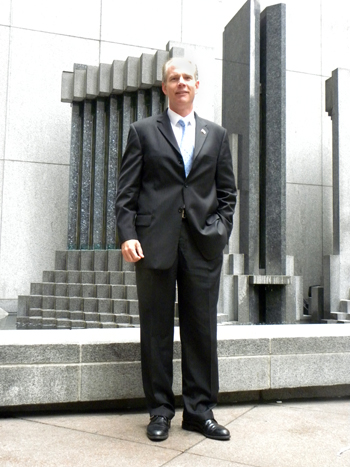 Daniel Donovan, the New York Republican candidate for Attorney General - Photo: Ewa Kern-Jedrychowska