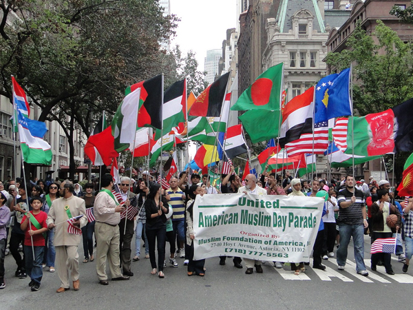 The Muslim Day Parade in New York City - Photo: Mohsin Zaheer