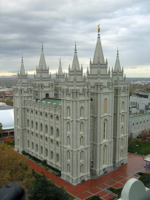 Utah's Salt Lake Temple - Photo: JPStanley