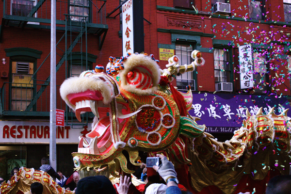 Chinese Lunar New Year Parade