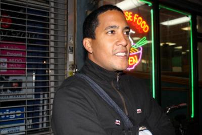 Giovanni Roberto Caez, a student activist at the University of Puerto Rico