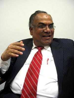 Maf Uddin, President of Local 1407