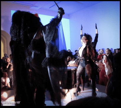 'We have come to take your jobs' prosperity ritual performed at Moma PS1