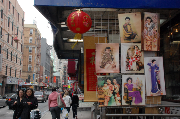 A chinatown street scen