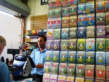 Narinder at the family's store in Lindenhurst