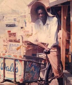 Lookman selling ice cream in Lagos