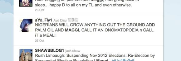 Nigerians love Maggi