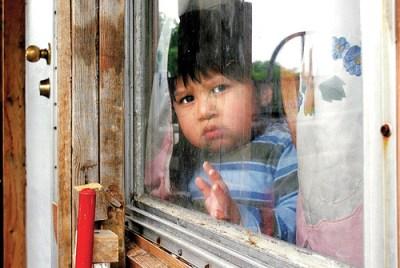 A Latino child in Georgia