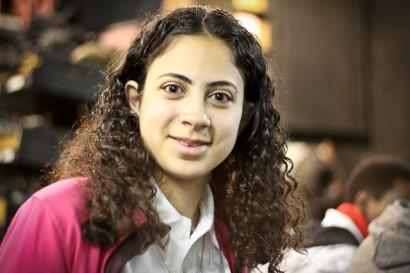 Ahlam Darwish, a 17 year old Arab-Israeli filmmaker from Jerusalem