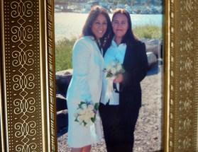 Monica Alcota and Cristina Ojeda's wedding photograph