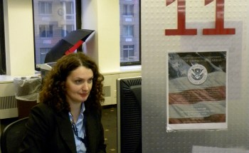 Barbara Felska, an immigration services officer at the Stokes unit