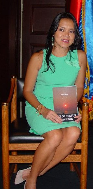 Jen Furer with book
