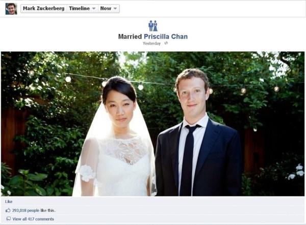 Priscilla Chan and her beau, Mark Zuckerberg