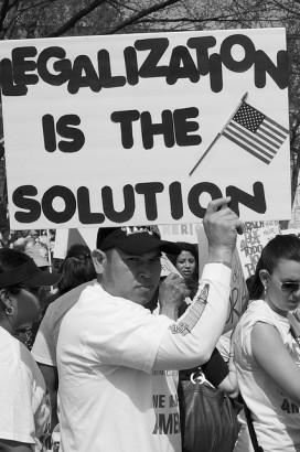 Immigration reform rally. (Photo: Flickr/Anuska Sampedro)