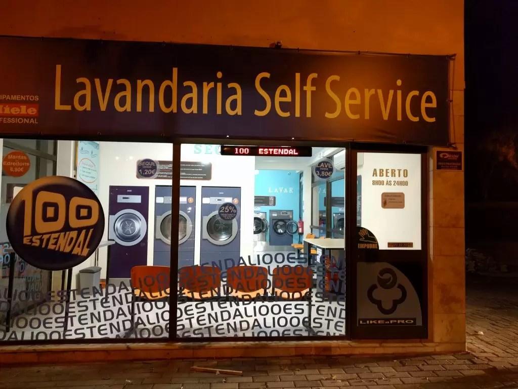Lavandaria Self Service 100estendal (exterior)