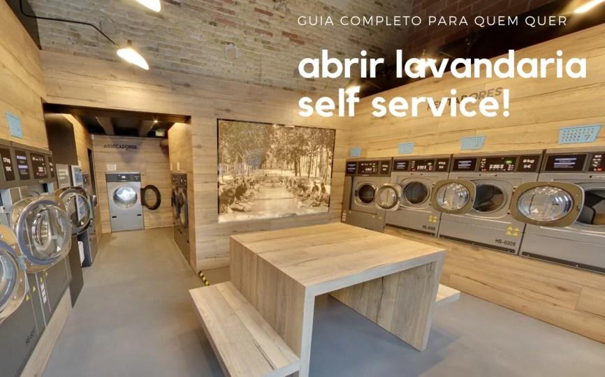 0b6776f481 Lavandaria Self Service - Guia Completo em como abrir a sua!