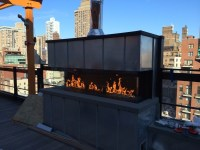 Park South Hotel Fireplace  NYC Rooftop