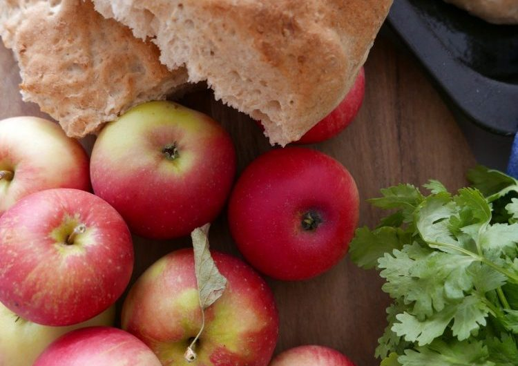 Äppelbröd i långpanna
