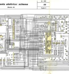 electrical system fiat 130 [ 1299 x 863 Pixel ]