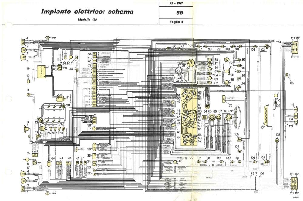 medium resolution of electrical system fiat 130