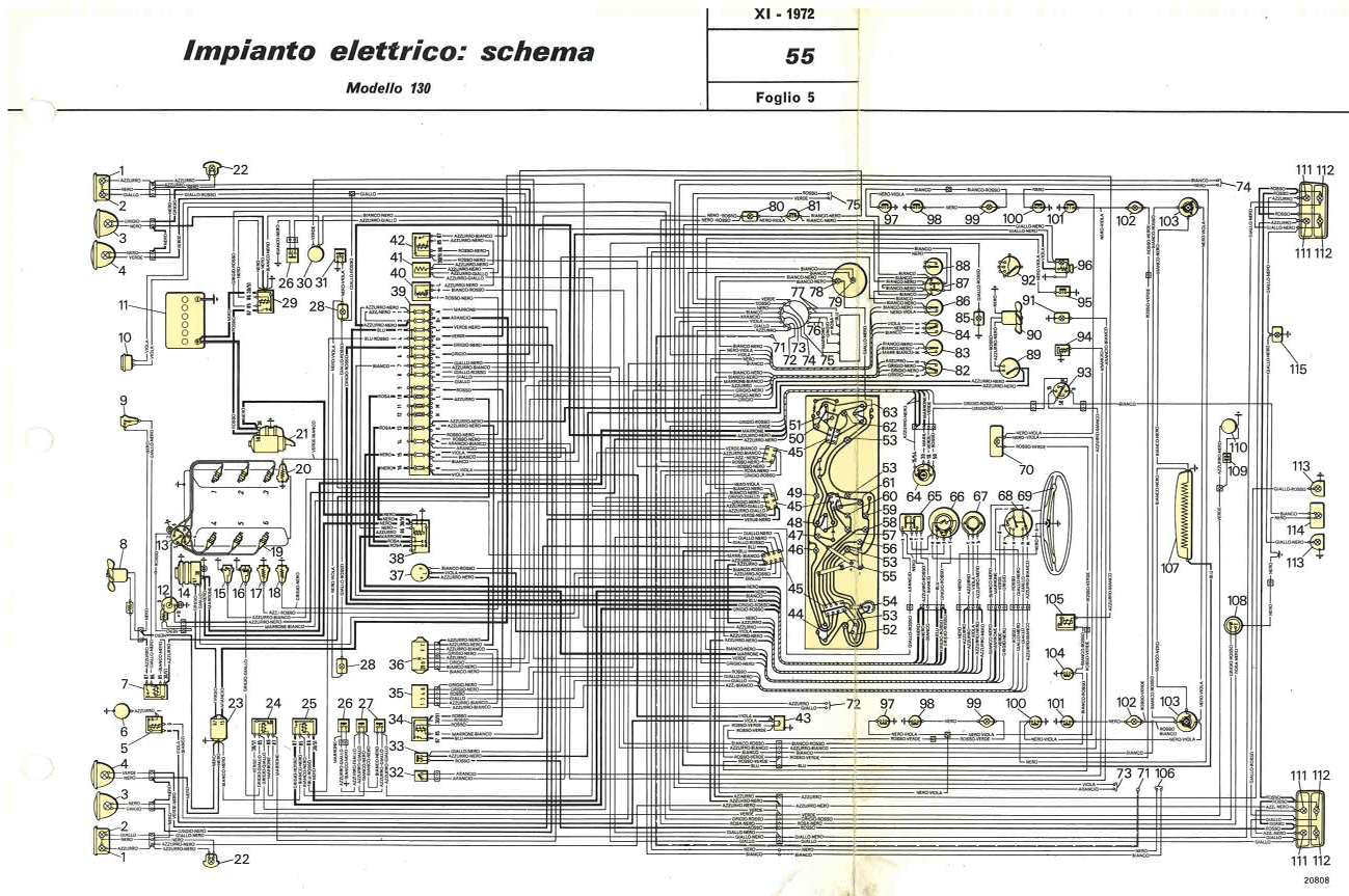 hight resolution of fiat 130 wiring diagram