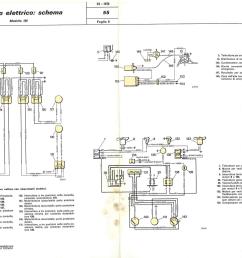 electrical system wiring diagram de nederlandse fiat 130 website electrical system fiat 130 [ 1653 x 1162 Pixel ]