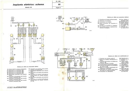 small resolution of electrical system wiring diagram de nederlandse fiat 130 website electrical system fiat 130