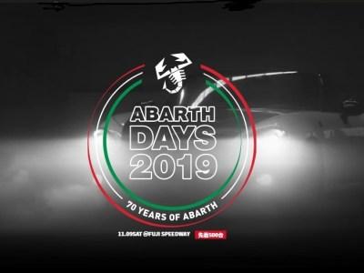 アバルトデイズ2019 ABARTH DAYS