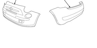 2013 Fiat 500-Pop Ground Effect Kit