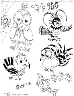 alice-frenz-pattern-motif-illustration-sketchbook-fancy-birds-pill-bugs-2014-11-24-002