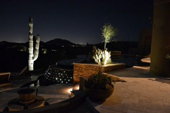 Star Floor Pool and Landscape Lighting