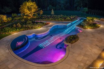 Star Floor Pool - Violin