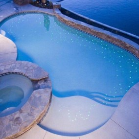 Star Floor in Pool
