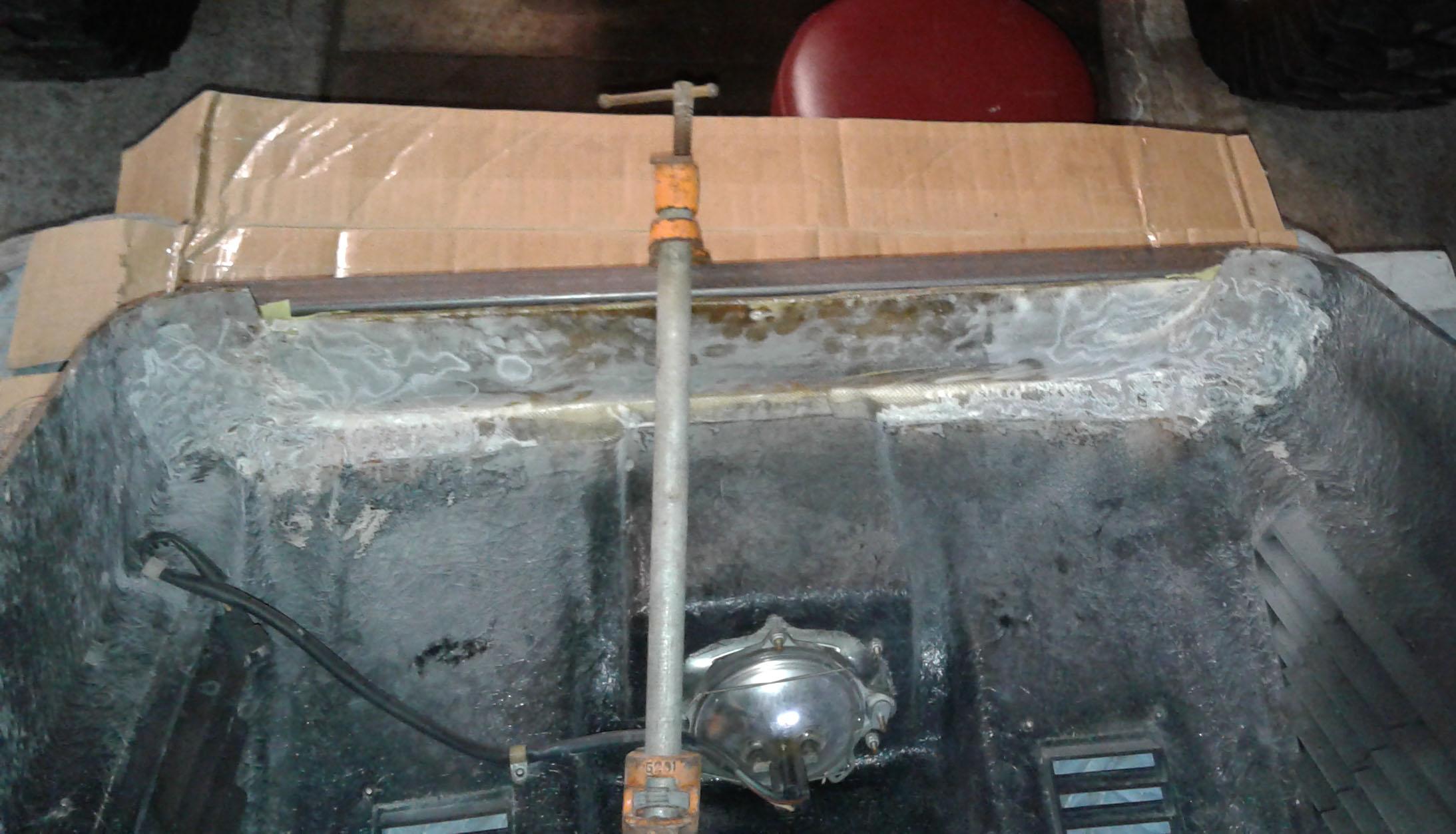 Structural Repair of Fiberglass Snowmobile Hood