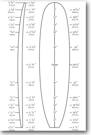 Surfboard template pdf
