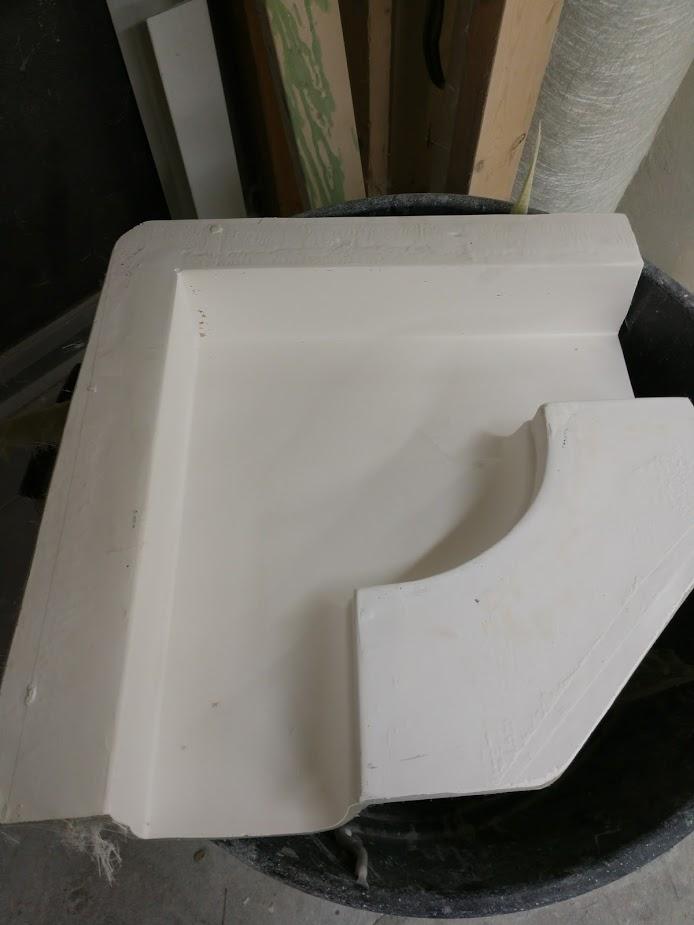 Custom Fiberglass Gutter