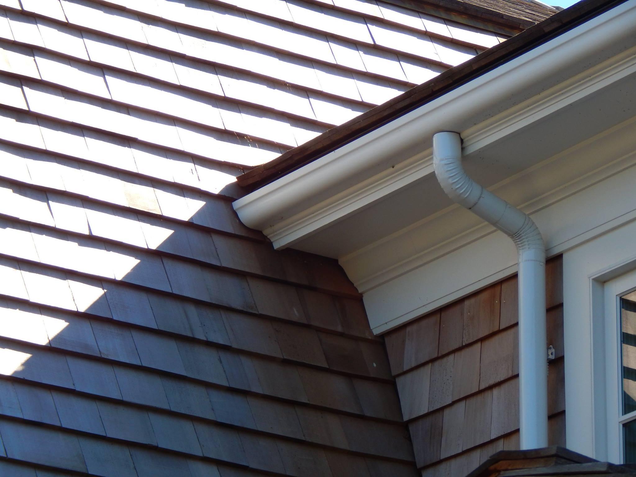 fiberglass gutters