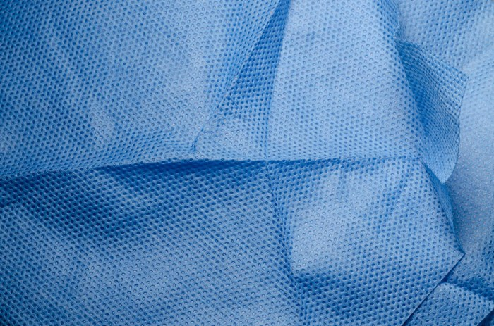 blue medical nonwoven fabric