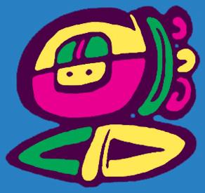 Logo - Wiseman or Artist in Maya language