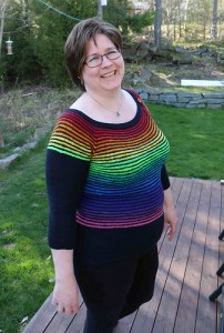 Silja Rainbow sweater