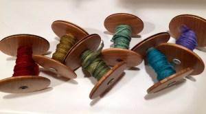 Bobbins for six ply