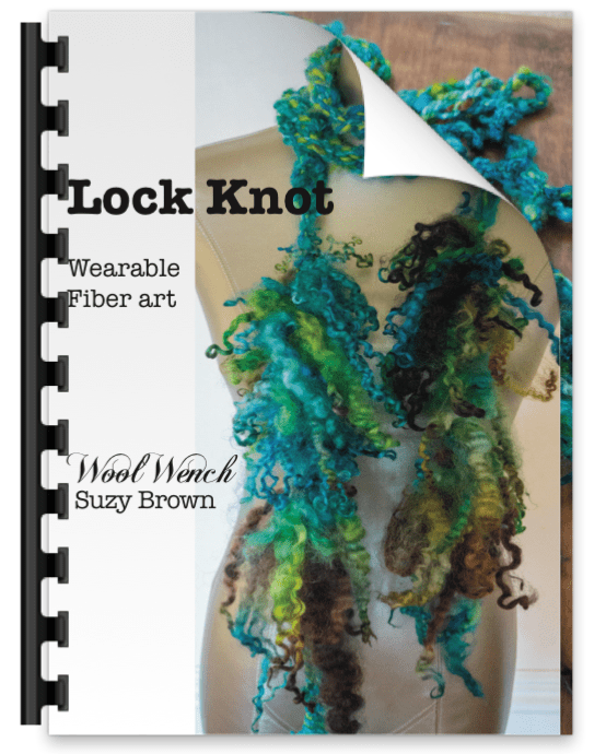 LockKnot Skinny Scarf Tutorial